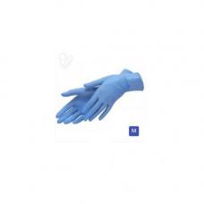 Перчатки нитриловые не опудр. M (100 шт) синяя ( без НДС) XINGYU