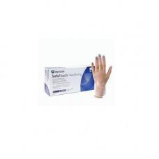 Перчатки виниловые  опудр. M (100 шт) прозрачная