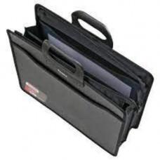 Портфель пласт. А4 3 отделения, черный  BM.3734-01