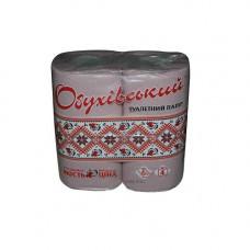 Туалетная бумага серая на гильзе (4шт)