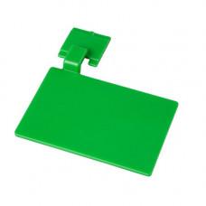 Маркировочный значек для алюмин. рейки, цвет зеленый ХАССП