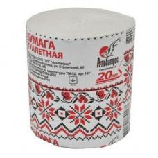 Туалетная бумага макулатурная серая (90мм*90мм) Альбатрос (СБО) 180