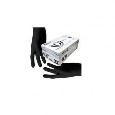 Перчатки нитриловые не опудр. XL (пара) черная SFM (без НДС)