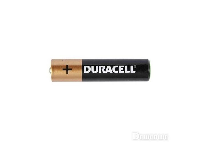 Батарейка LR03 Duracell щелочная минипальчиковая
