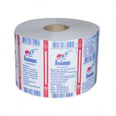 Туалетная бумага макулатурная серая (90мм *140мм/90м) на гильзе Альбатрос