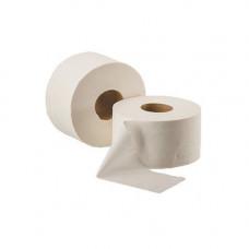 Туалетная бумага, целлюлозная, белая (91мм*190мм/120м) 2-х слойн./1000 отрывов