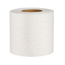 Туалетная бумага целлюлозная, белая, двухслойная, на гильзе, 120отрывов(91мм*105мм), 15м, TP020, Укр