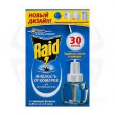 Жидкость для электрофумигаторов от комаров (22мл) 30 ночей Raid