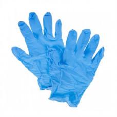Перчатки нитриловые не опудр. XL (100 шт) синяя SFM (без НДС)