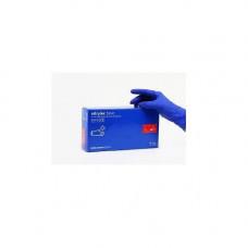 Перчатки нитриловые не опудр. M (100 шт) синяя Nitrylex (без НДС)