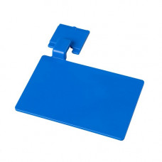 Маркировочный значек для алюмин. рейки, цвет синий ХАССП