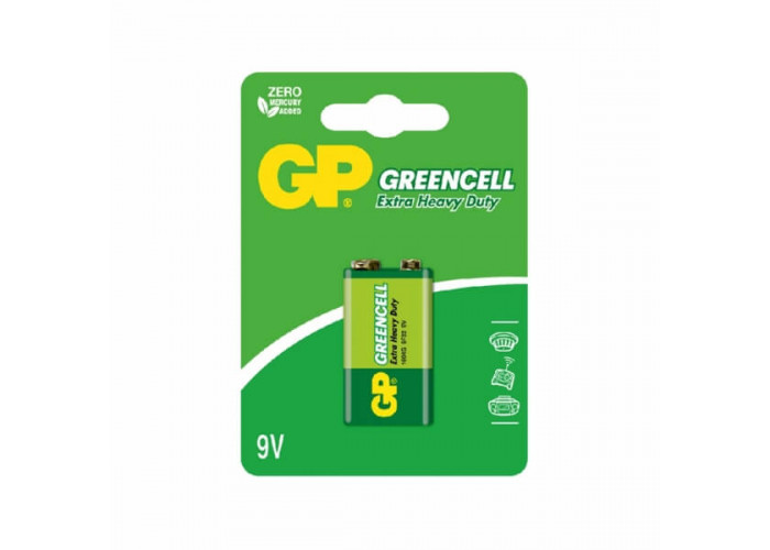 Батарейка 6F22KG GP солевая крона 9.0V