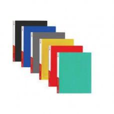 Папка-бокс А4/36 пластик. на липучке, MIX 4-242