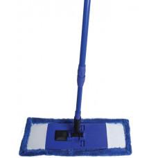 Комплект для уборки ЕВРО МОП (130см) микрофибра (44см) телескопическая ручка KD-8113