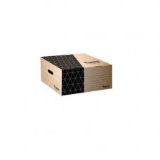 Короб для боксов архив. картон. 365*265*560мм  серый Ах1734-03-A