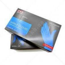 Перчатки нитриловые не опудр. S (100 шт) черная PROservice (без НДС)