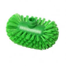 Щетка для мытья резервуаров, жесткая, полиэстер, 200*120, цвет зелёный, FBK ХАССП