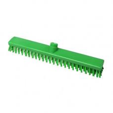 Щетка для пола  полиэстер, жёсткая, 400*50, высота ворса 30мм, цвет зелёный, FBK ХАССП