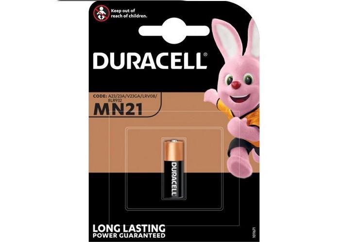 Батарейка LR06 Duracell Akaline щелочная пальчиковая MN21 12V