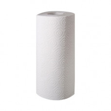 Полотенца бумажные целлюлозные белые, рулон.(170мм*125мм/50м/d60мм)2-х слойн/400отр