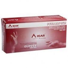 Рукавички латексные, XL (9-10) пара,IGAR High Risk (без НДС)