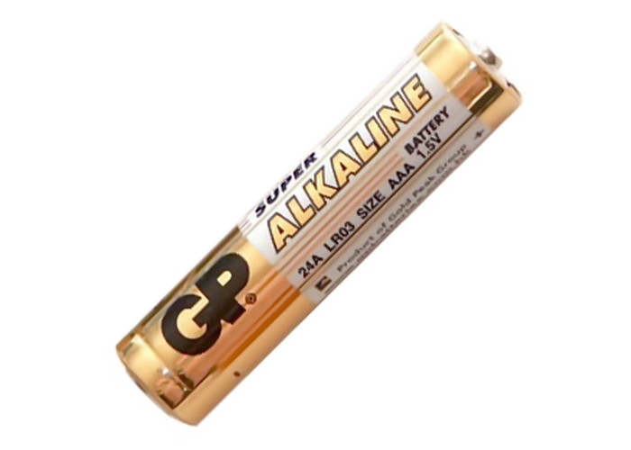 Батарейка LR03 GP щелочная минипальчиковая